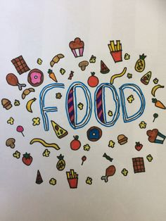 Food doodle!!