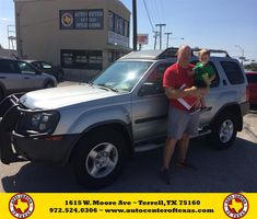 https://flic.kr/p/zsJFrs   Happy Anniversary to Christopher on your #Nissan #Xterra from Fidel Rodriguez at Auto Center of Texas!   deliverymaxx.com/DealerReviews.aspx?DealerCode=QZQH