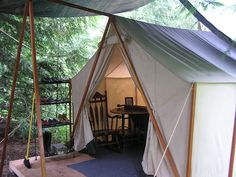 Accordion To Kellie: wall tent Wall Tent, Simple Living, Glamping, Outdoor Gear, Gazebo, Outdoor Structures, Places, Duffel Bag, Photography