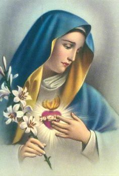 Sweet Holy Mother of God, we love you, we need you. Amen O Immaculate Heart of Mary, refuge of sinners, I beg of you … Blessed Mother Mary, Blessed Virgin Mary, Mary Jesus Mother, Virgin Mary Art, Religious Pictures, Jesus Pictures, Catholic Art, Religious Art, La Salette