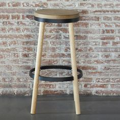 Oslo Counter Stool in Black
