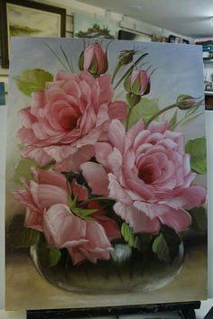 Lindissimas essas rosas
