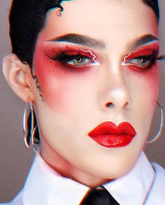 Drag Queen Makeup, Drag Makeup, Goth Makeup, Makeup Inspo, Makeup Inspiration, Beauty Makeup, Best Drag Queens, Rupaul Drag Queen, Queen Art