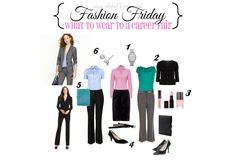 Young, Polished & Professional: Fashion Friday: What to wear to a Career Fair