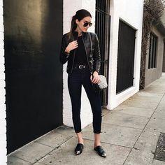 Brittany Xavier @thriftsandthreads Leather puffer ja...Instagram photo | Websta (Webstagram)