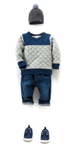 Me gusta mucho cuando las tiendas sugieren conjuntos de moda infantil http://www.minimoda.es