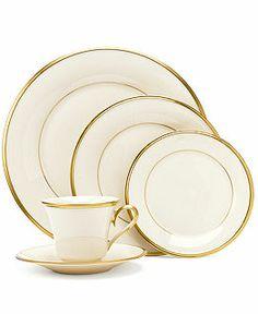 "Lenox ""Eternal"" Dinnerware - Lenox Fine China - my wedding china:) Fine China Dinnerware, Dinnerware Sets, Cream Dinnerware, Royal Doulton, Royal Copenhagen, Delft, Wedding China, Lenox China, China Sets"