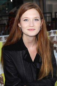 .the beautiful Bonnie Wright