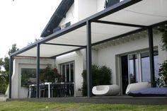 Pergola Modernas Piscina - Pergola De Hierro Y Policarbonato - Pergola Terrasse Bretagne - - Pergola Bois Canisse - Pergola Moderne Roof