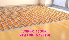 An underfloor heating system can save up to 30% on your bills because they are energy efficient and allowing the warmth where you want it. It is cheaper to install under a floor, and home will be able to retain better heat and require less energy.