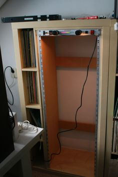 """IKEA Hackers: Expedit 19"""" rack  sweet! for those in music production~~"""