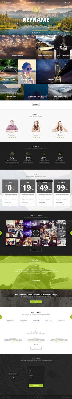 9 New Best Responsive Websites Themes (21st Oct 2014) #inspiration #webdesign