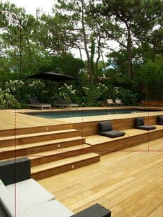 Getting an above ground pool for your home is a big decision but isn't a difficult problem if you know it. You must know about information best pool to your limited time and budget. Here We've provide a list of above ground pool ideas with decks and some Above Ground Pool Decks, Above Ground Swimming Pools, Swimming Pools Backyard, Swimming Pool Designs, In Ground Pools, Rectangle Above Ground Pool, Oberirdischer Pool, Backyard Decks, Intex Pool