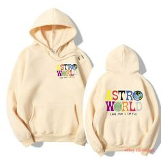 Travis Astroworld Scott Hoodie Sweatshirts Hooded White Tour Off Merch T Hip Hop Cute Lazy Outfits, Trendy Outfits, Cool Outfits, Travis Scott Hoodie, Travis Scott Merch, Basketball Hoodies, Aesthetic Clothes, Aesthetic Hoodie, Sporty Swimwear