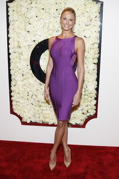Stacy Keibler Bandage Dress - Stacy Keibler Looks - StyleBistro
