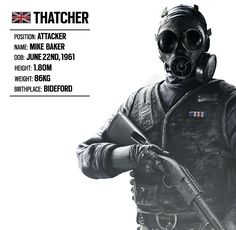 OPERATOR SPOTLIGHT #2: THATCHER (BRITISH UNIT) | Rainbow Six® Siege Game News & Updates | Ubisoft® (UK)