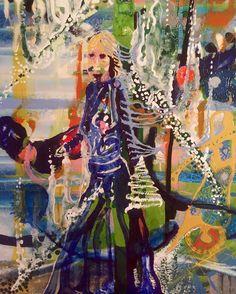 Nearly finished this. Detail. Late.. #bothendsofmadness  a #plasticpropaganda fine art exhibition in #folkestone Sassoon gallery 4-21 July.  #painting #studio #enamel #resin #fineart #photography #whitewall_lab #plasticpropaganda #jezgiddings #contemporaryart #inspired #freedom @plasticpropagandain #lost #nowayoutagain #art #fineart #symmetry #christmas #family #myfamilyandotheranimals #ancestors #sophiegiddings #jillcarolgiddings