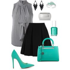 A fashion look from March 2015 featuring MICHAEL Michael Kors blouses, By Malene Birger mini skirts and Express bracelets. Browse and shop related looks.  Created on polyvore @stileclassico