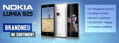 Nokia's Lumia 925 handset to take on the iPhone: Nokia has launched its latest high-end smartphone with a new metal design and its most advanced camera yet