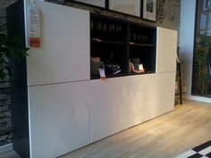 Love those doors! Tv Cabinets, Ikea, Kitchen Appliances, Shelves, Doors, Living Room, Storage, Interior Ideas, Remodeling