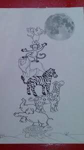 Resultado de imagen de dibujos a que sabe la luna para colorear
