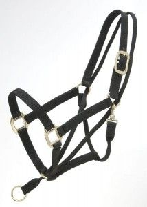 Tough-1 Eagle Equine Pull-Back Halter comes with our 100% Satisfaction Guarantee! A safe way to control your horse. Triple ply nylon halter featuring a poll strap