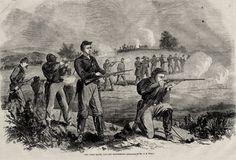 First Maine Cavalry Regiment Skirmishing, 1863