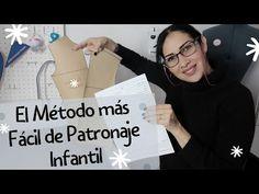 #39 PATRÓN BÁSICO INFANTIL👧👦/ TE REGALO MI MÉTODO Y Planilla de Registro de Medidas🎁 - YouTube Baby Clothes Patterns, Clothing Patterns, Sewing Patterns, Sewing Hacks, Sewing Tutorials, Barbie, Little Girl Fashion, Sewing For Beginners, Pattern Fashion
