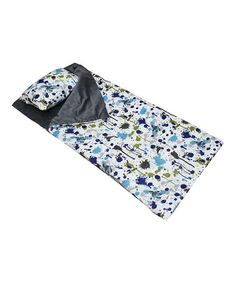 Splatter paint sleeping bag amp pillow by thro just pinning for the