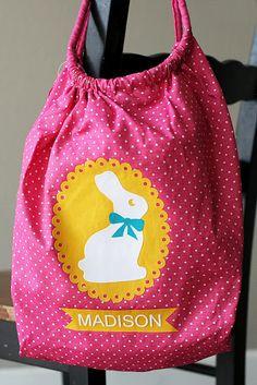 Easter - bunny bag tutorial