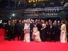 Cast and crew of Wim Wenders' 'Every Thing will be Fine' at this year's #Berlinale2015
