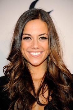 Jana Kramer's brown hair <3