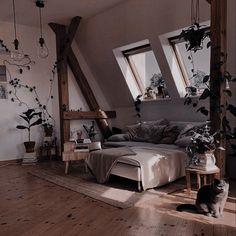 Dream Home Design, My Dream Home, House Design, Interior Exterior, Interior Design, Bedroom Decor For Teen Girls, Dark Interiors, Aesthetic Bedroom, Ideas