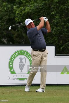Mark O'Meara during the final round of the 2017 PGA Champions Tour Regions Tradition on May 21, 2017 at Greystone Golf and Country Club in Hoover, Alabama.