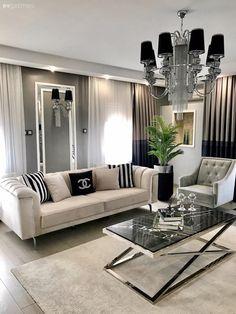 Beige Living Rooms, Decor Home Living Room, Interior Design Living Room, Living Room Designs, Home Decor, Home Room Design, Decor Interior Design, Luxury Furniture, Furniture Design