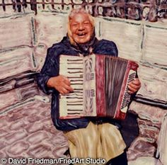 Nothing brings a smile to your face like playing the accordion. :)