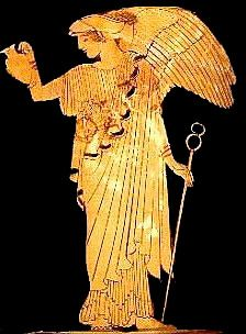 Book XVIII: [Iris] Lie here no longer. [Iris brings Hera's message to Achilles: go back to battle. Ancient Greek Religion, Ancient Romans, Ancient Goddesses, Gods And Goddesses, Air Symbol, Iris Goddess, Greek Pantheon, Mother Goddess, Greek Art