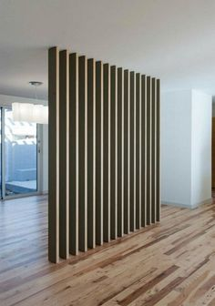 Perfect And And Simple Wood Partition Ideas As Room Divider. If you are looking for And And Simple Wood Partition Ideas As Room Divider, You come to the right place. Wood Partition, Living Room Partition, Room Partition Designs, Living Room Divider, Partition Ideas, Partition Screen, Bamboo Room Divider, Glass Room Divider, Room Divider Walls