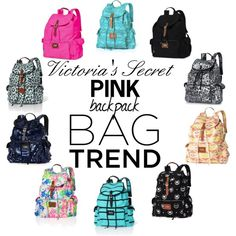 Victoria's Secret Backpack Bag Trend - Polyvore