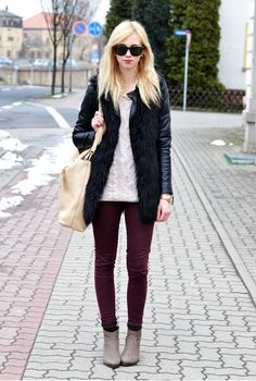 BACK TO WINTER: A look created by Barbora Ondrackova on Fashiolista.com
