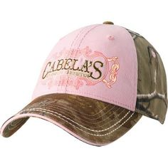 Cabela s Women s Legendary Outfitter Cap - Realtree AP™ Pink Cowgirl Hats cb1c3c6ae6e0