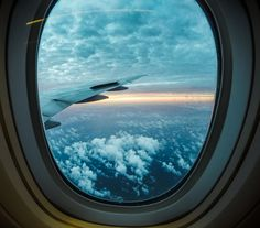 Airplane window views! #gopro #cathaypacific