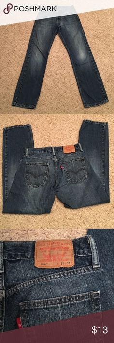 Levi Strauss 514 in great condition size 31 x 32 Levi jeans in great condition size 31 x 32 Levi's Jeans Straight