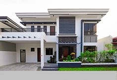 House and lot for Sale in BF Homes Paranaque City Type 2 storey Single detached . - House and lot for Sale in BF Homes Paranaque City Type 2 storey Single detached Status Brand new Re - Two Story House Design, 2 Storey House Design, Best Modern House Design, Modern Exterior House Designs, Modern House Facades, Duplex House Design, House Front Design, Modern Architecture House, Modern Roof Design