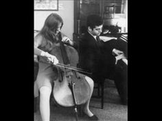 The last recording session. 11 th December 1971. Jackie with Daniel Barenboim.
