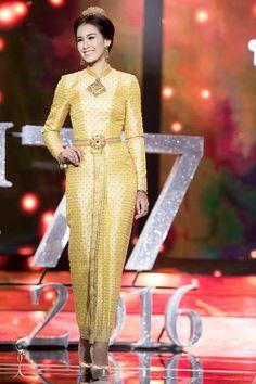 อลังการ! ชุดประจำชาติสะท้อนอัตลักษณ์ 77 จังหวัด Miss Grand Thailand 2016 - Pantip