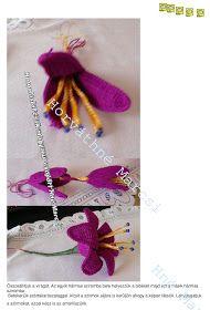 Horgolásról csak magyarul.: AMARILLISZ Tassel Necklace, Crochet Necklace, Tassels, 3d, Strands, Amigurumi, Tassel, Fringes