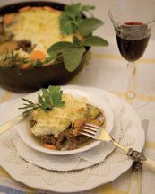 Sirloin and Potato Pie