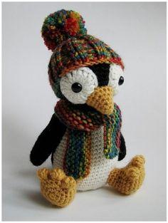 amigurumi penguin by samaranselmo