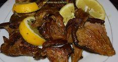 Ελληνικές συνταγές για νόστιμο, υγιεινό και οικονομικό φαγητό. Δοκιμάστε τες όλες Going Vegan, Food Network Recipes, Vegan Vegetarian, Steak, Recipies, Stuffed Mushrooms, Food And Drink, Veggies, Beef